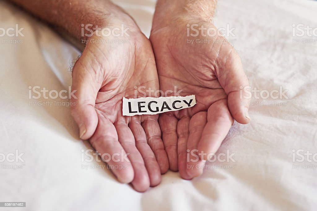Create a legacy that lasts a lifetime stock photo