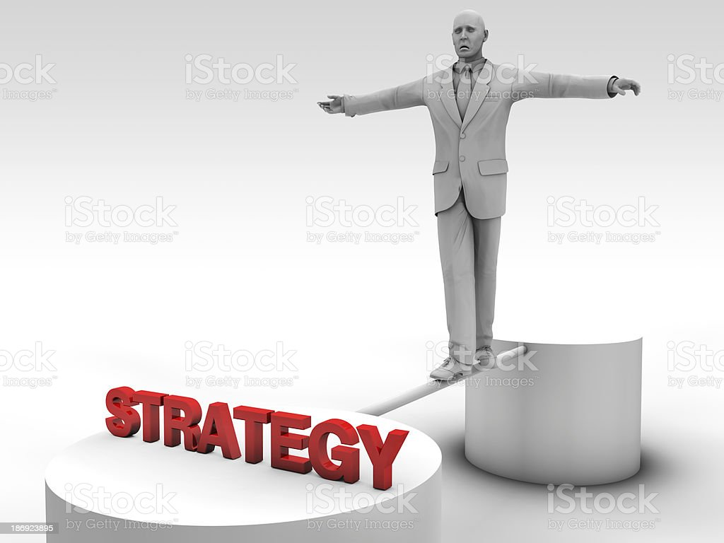 Create a strategy royalty-free stock photo