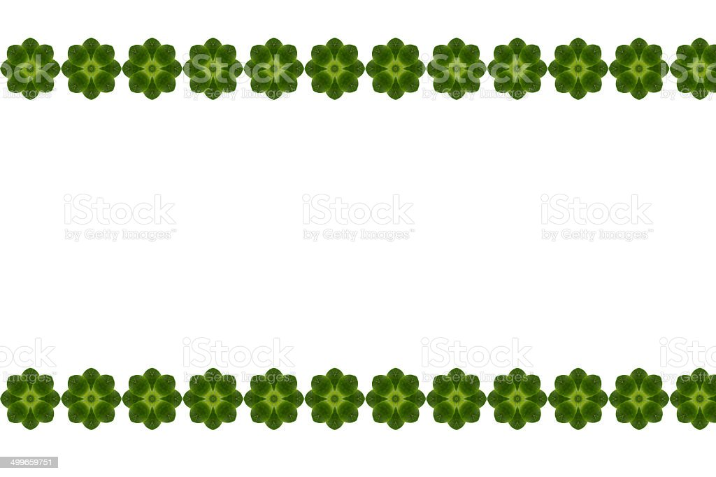 Create from leaf.(Card  concept) royalty-free stock photo