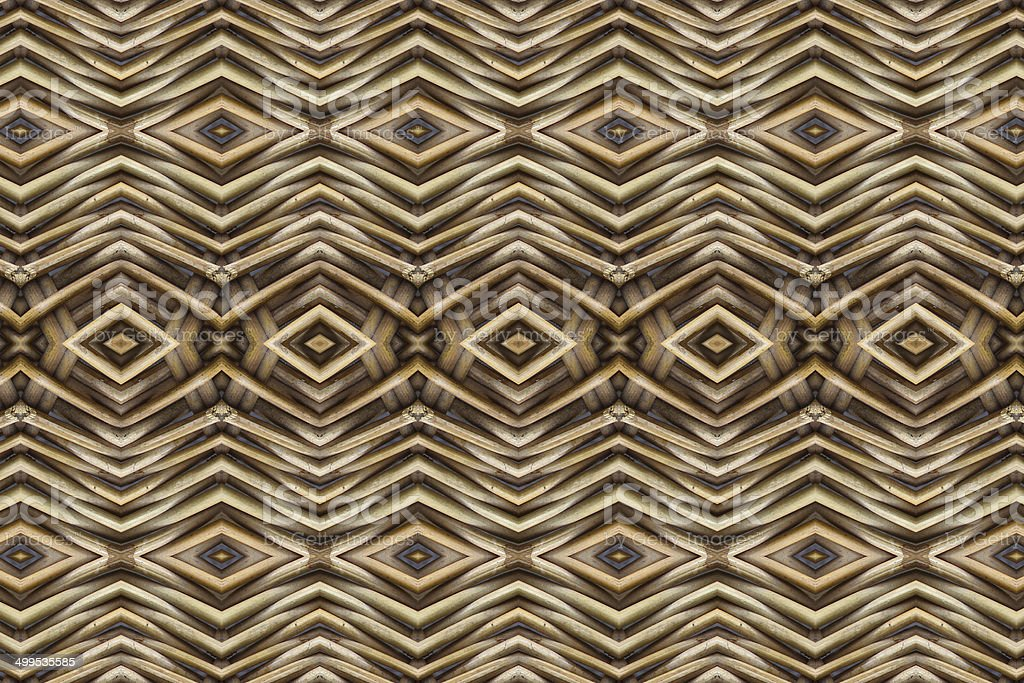 Create  from woven wood patterned stock photo