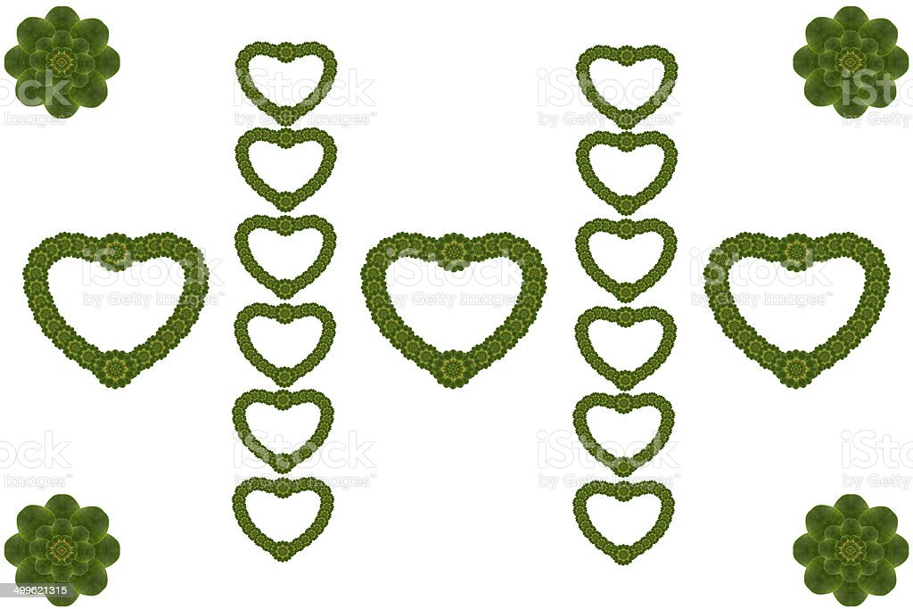 Create heart form levase royalty-free stock photo