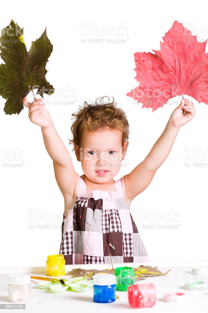 I created the fall royalty-free stock photo