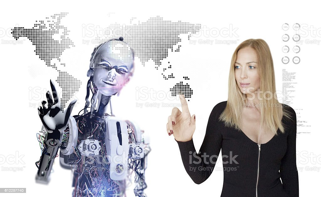 Creating Global Business in Future stock photo
