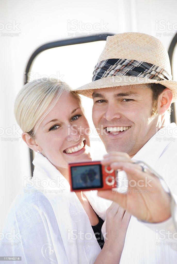 Creating memories royalty-free stock photo