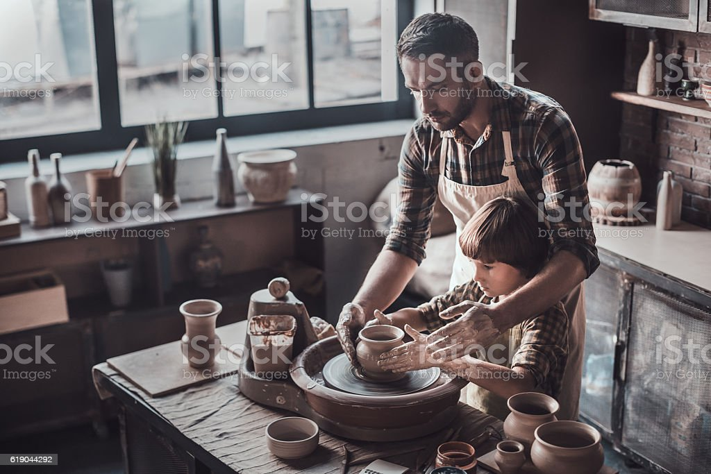 Creating something great together. stock photo