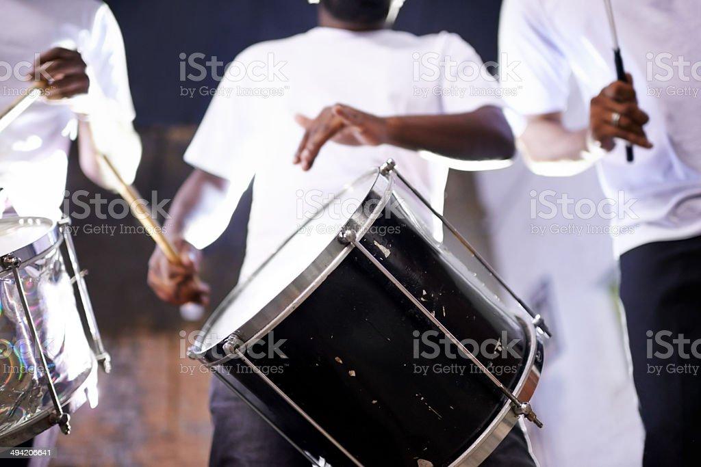 Creating sweet music stock photo