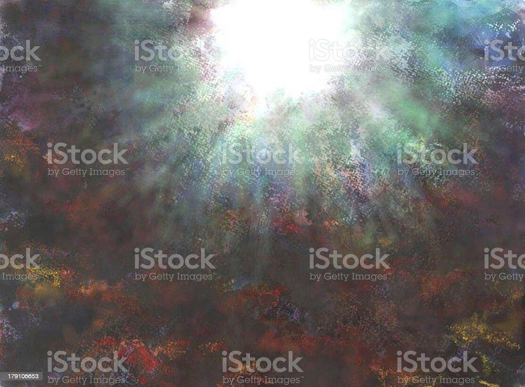 Creation Heaven and Earth stock photo