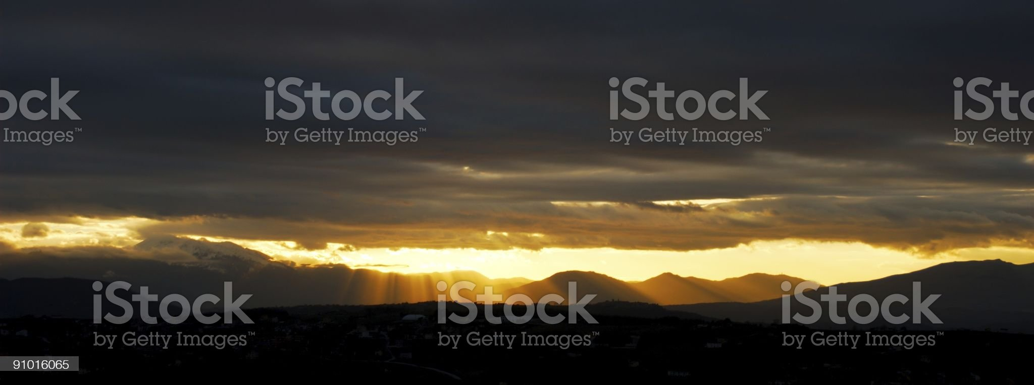 Creation in yellow royalty-free stock photo