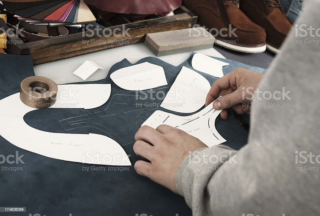 creation shoes royalty-free stock photo