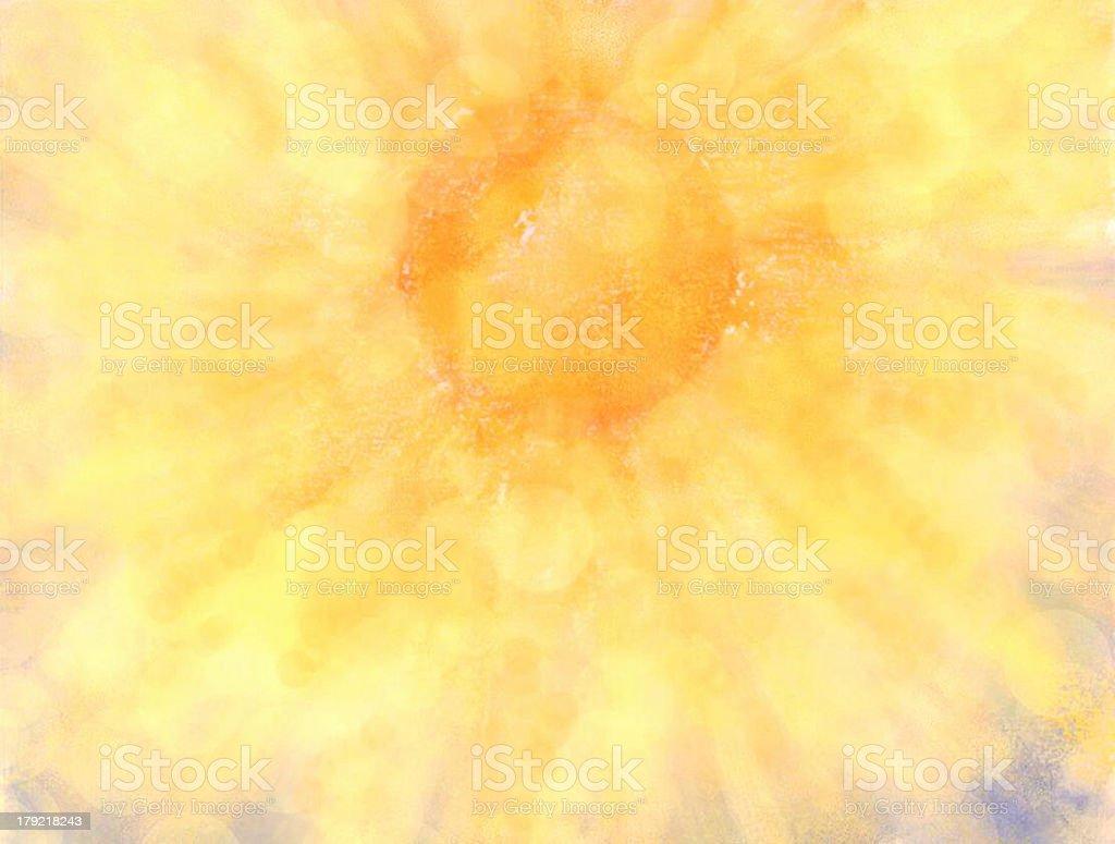 Creation Sun stock photo