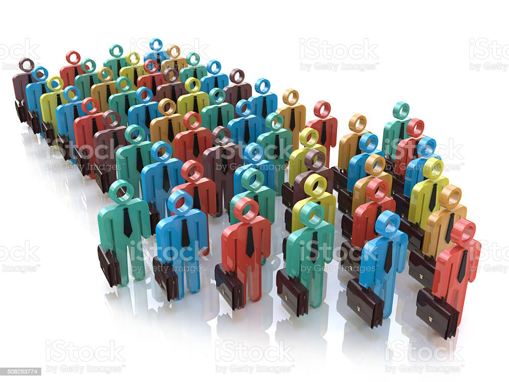 Creative abstract social communication network, business corpora stock photo