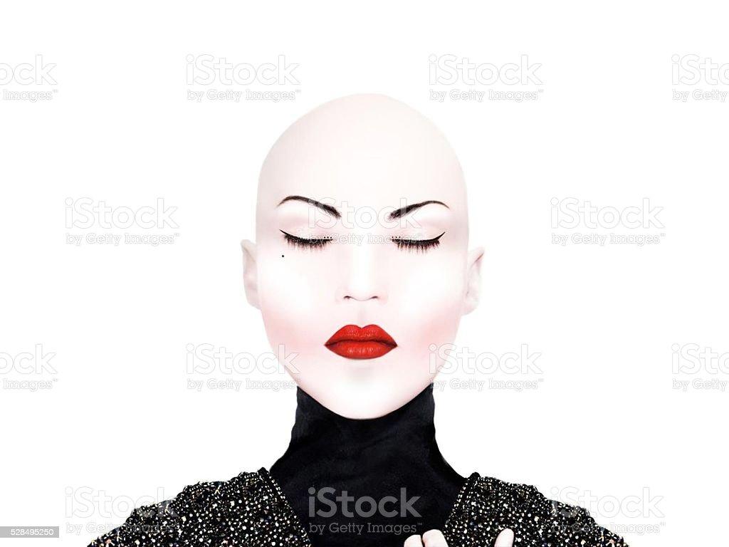 Creative beauty make up stock photo