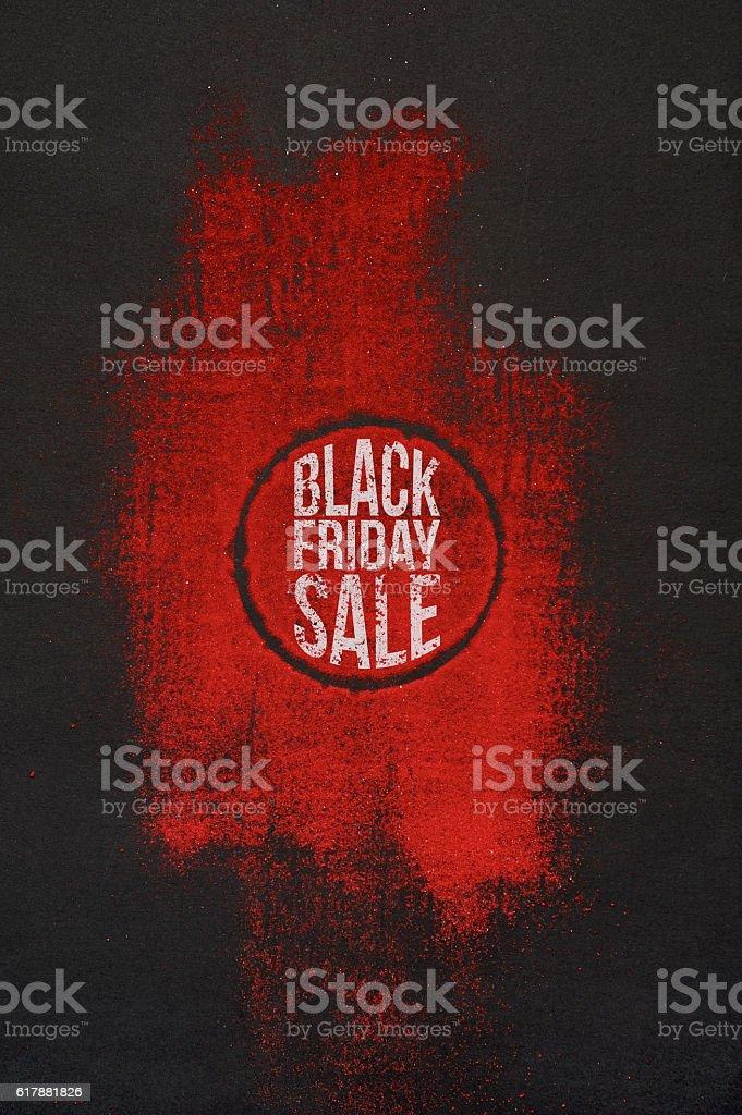 Creative Black Friday Sale Advertising stock photo