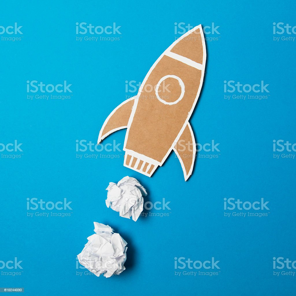 Creative boost stock photo