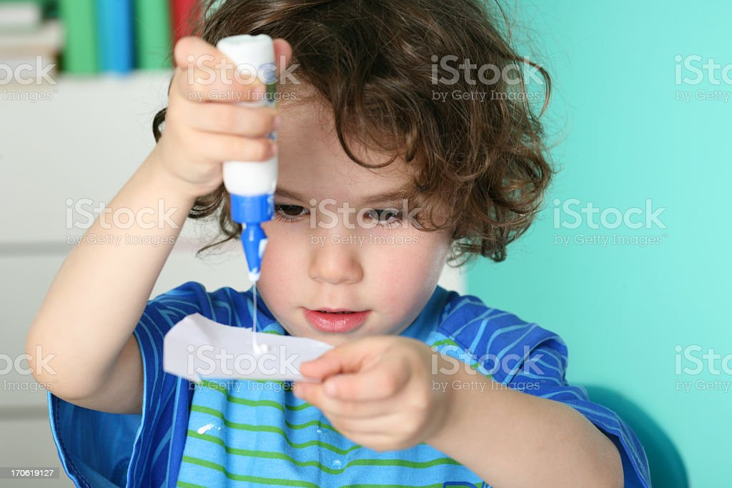 creative child stock photo