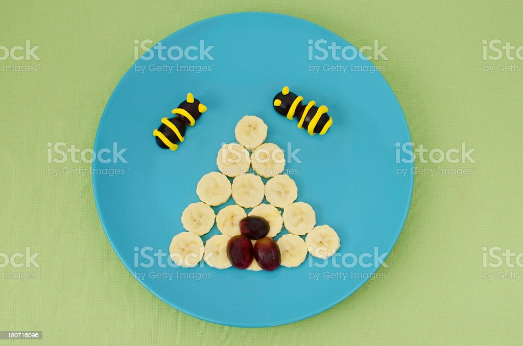 Creative children's food royalty-free stock photo