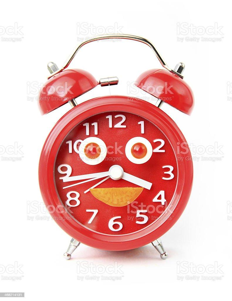 Creative clock royalty-free stock photo