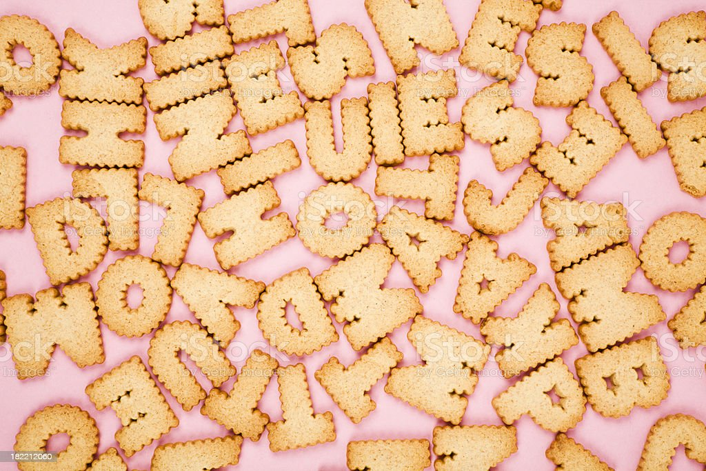 Creative cookies royalty-free stock photo