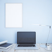 Creative designer desk