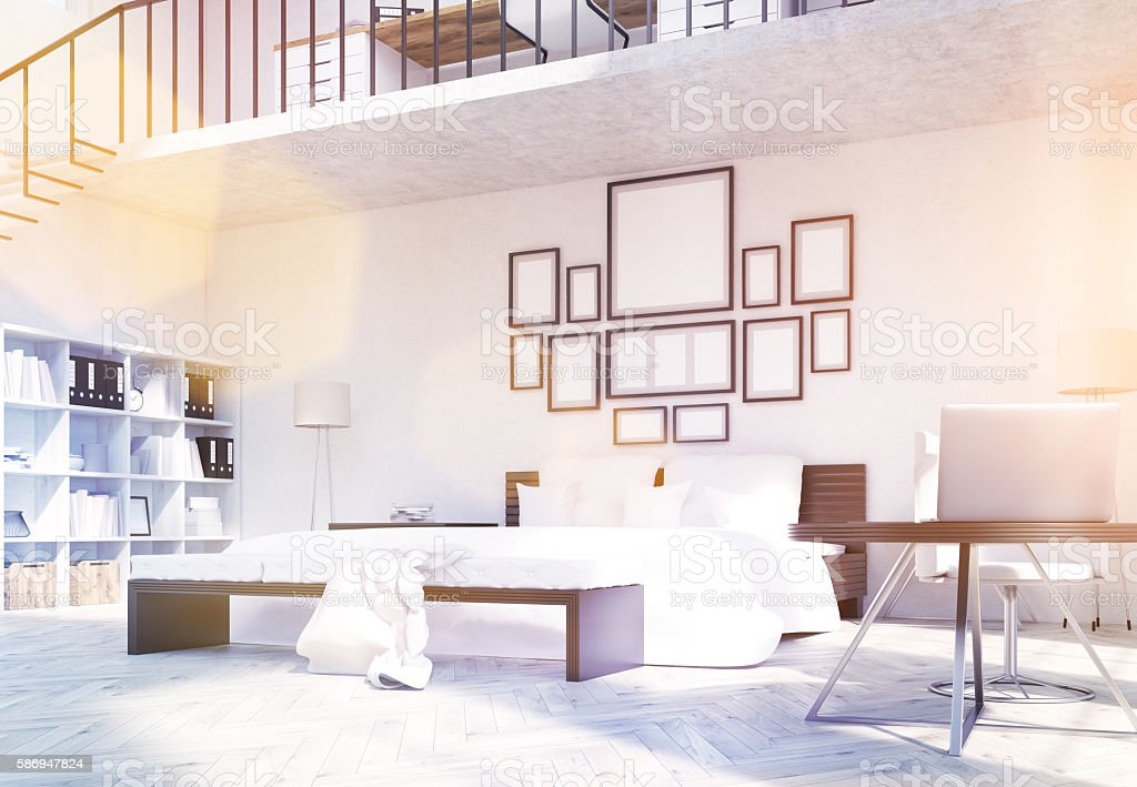 Creative designer interior toning stock photo