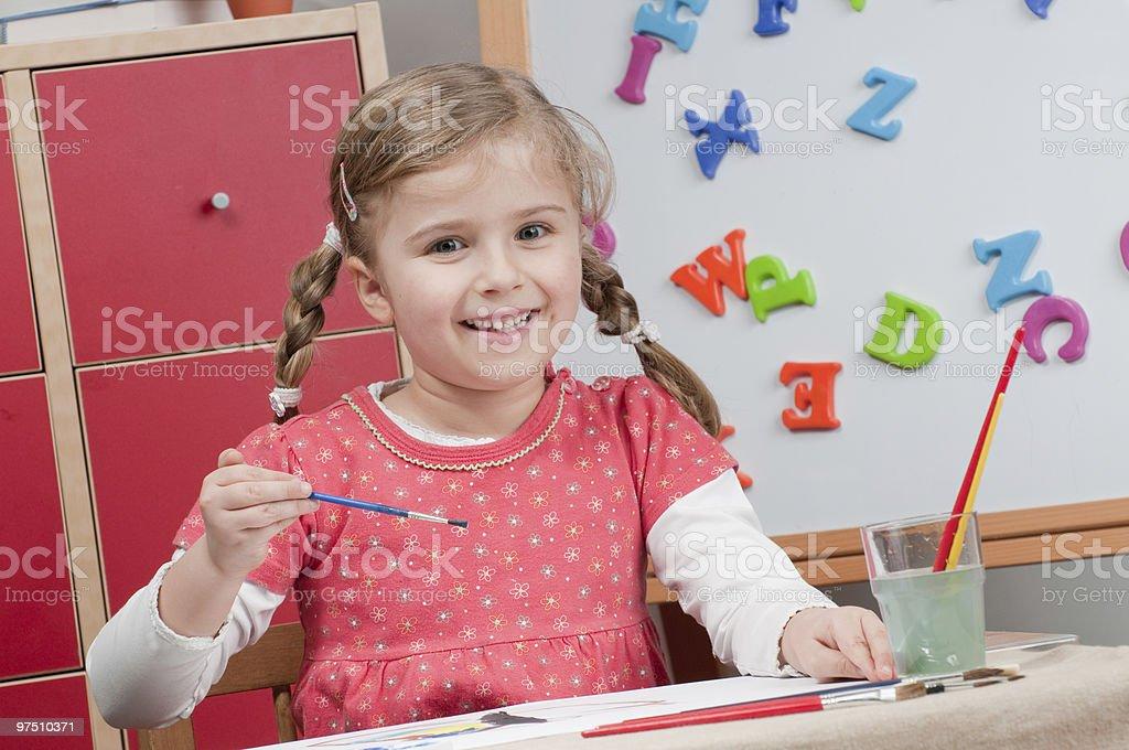 Creative education royalty-free stock photo