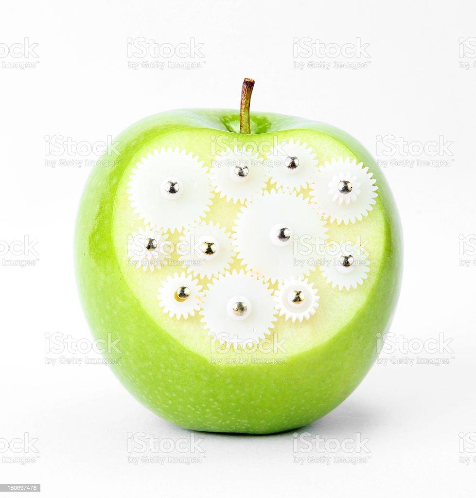 Creative fruits royalty-free stock photo