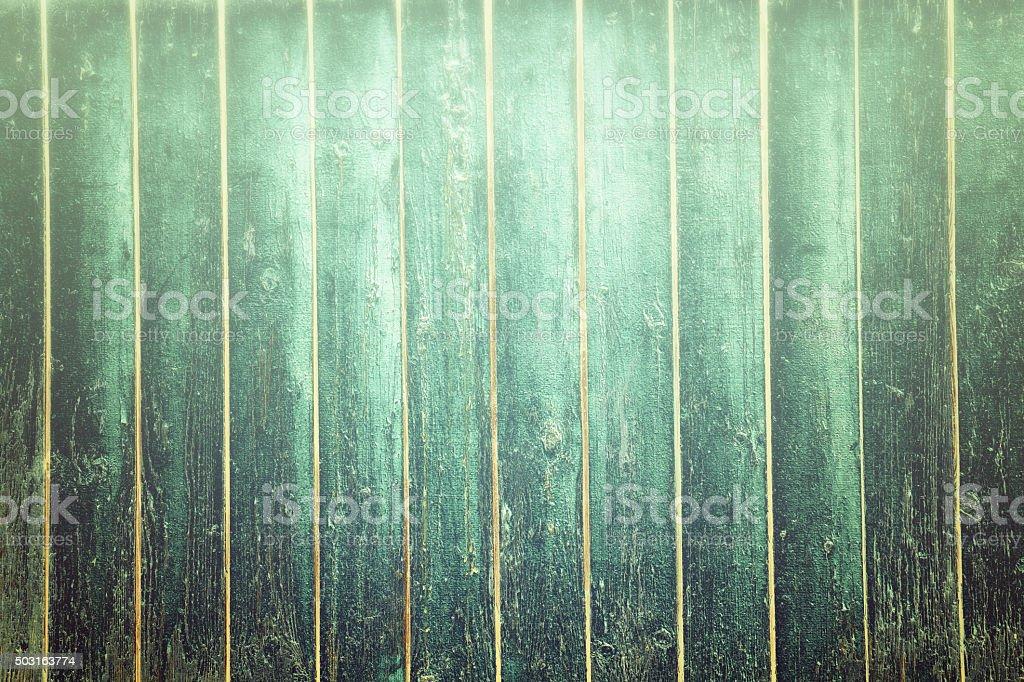 Creative Green Wood Background stock photo