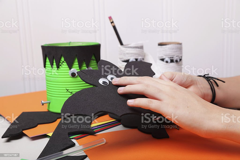 Creative Hands royalty-free stock photo