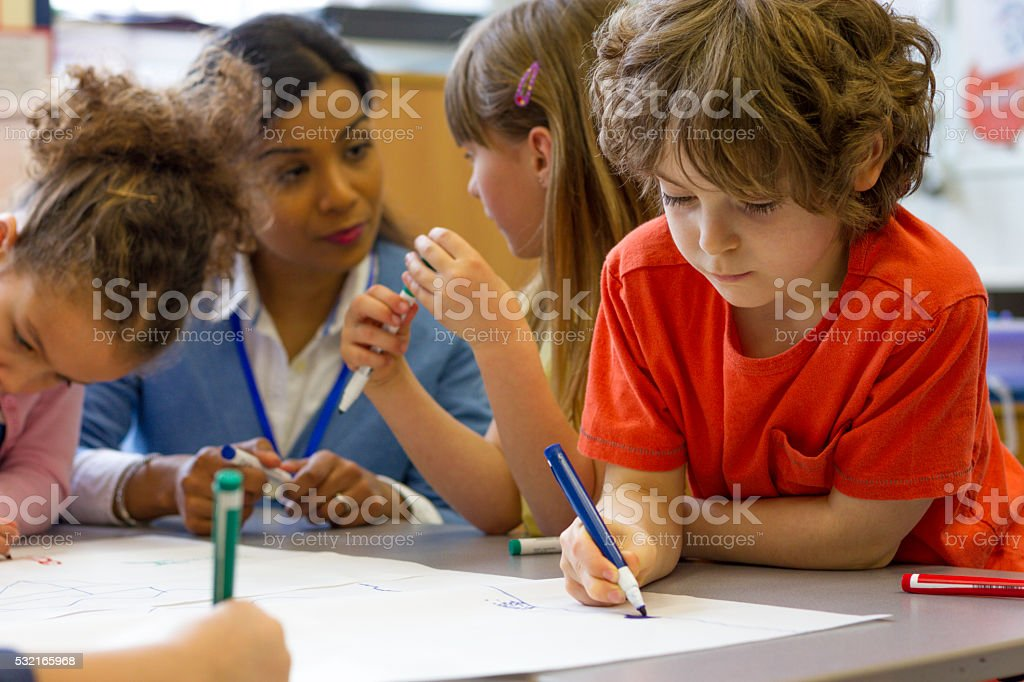 Creative Kids stock photo