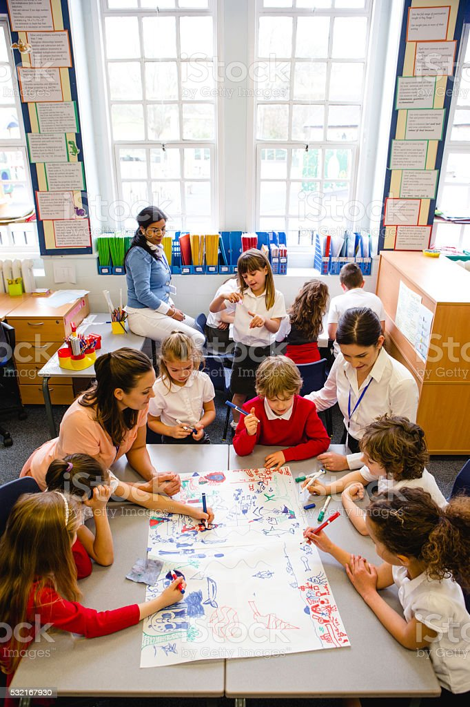 Creative Kids stock photo