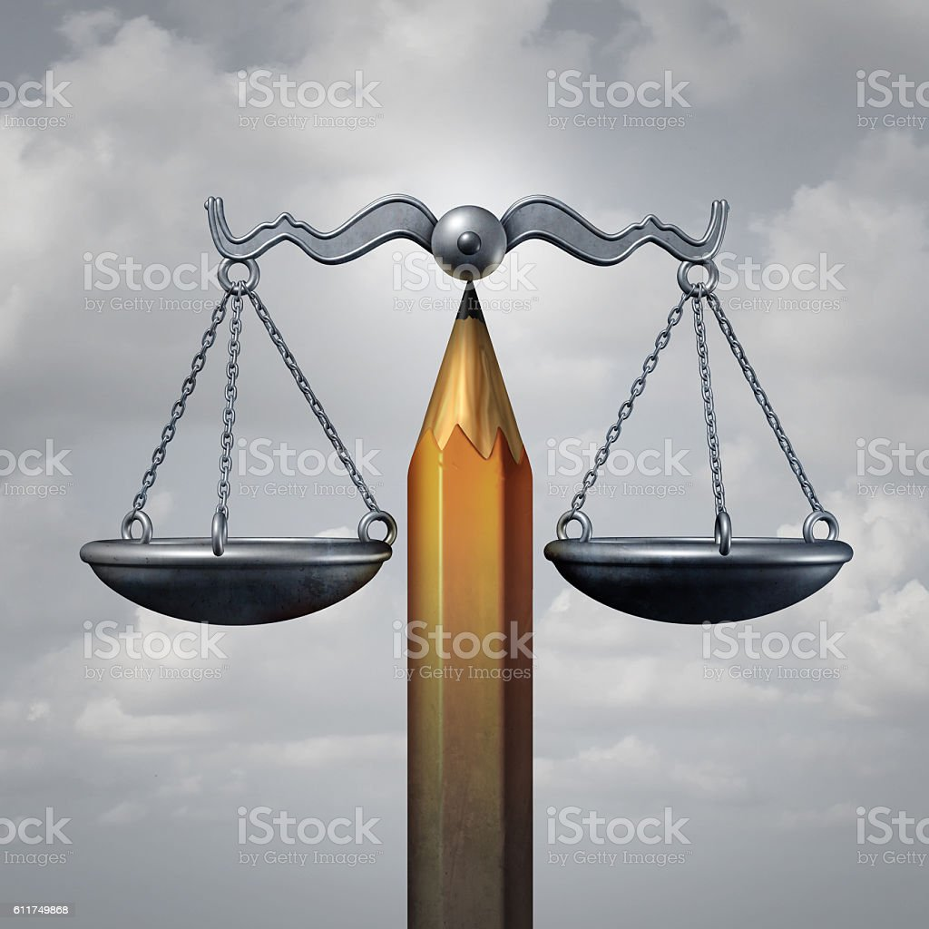 Creative Law stock photo
