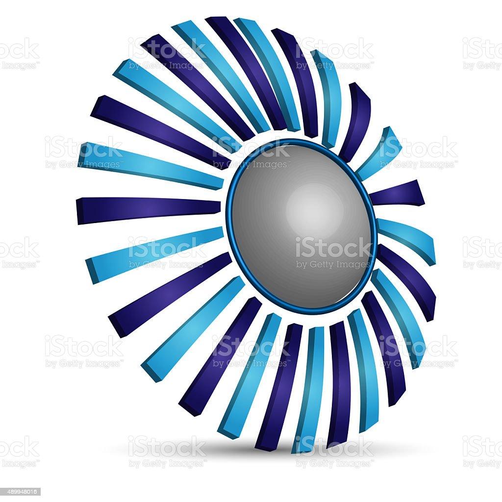 creative logo stock photo