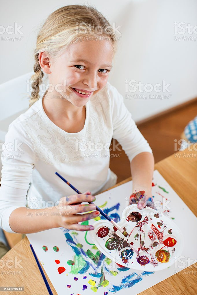Creative mess stock photo