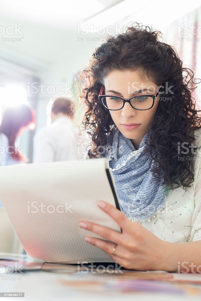 Creative Office Business stock photo