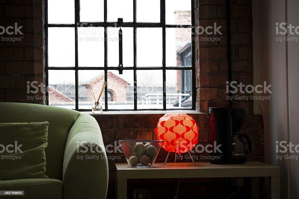 Creative Office Lounge Close-Up stock photo