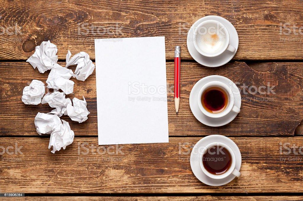 creative process.Business concept. stock photo