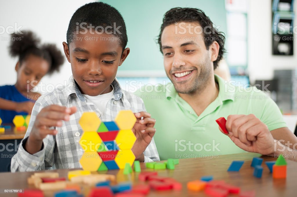 Creative Projects at School stock photo