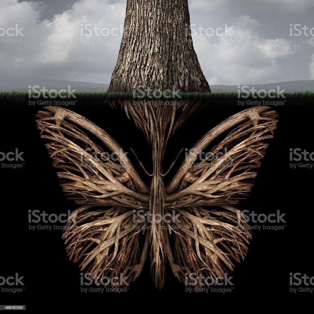 Creative Roots stock photo