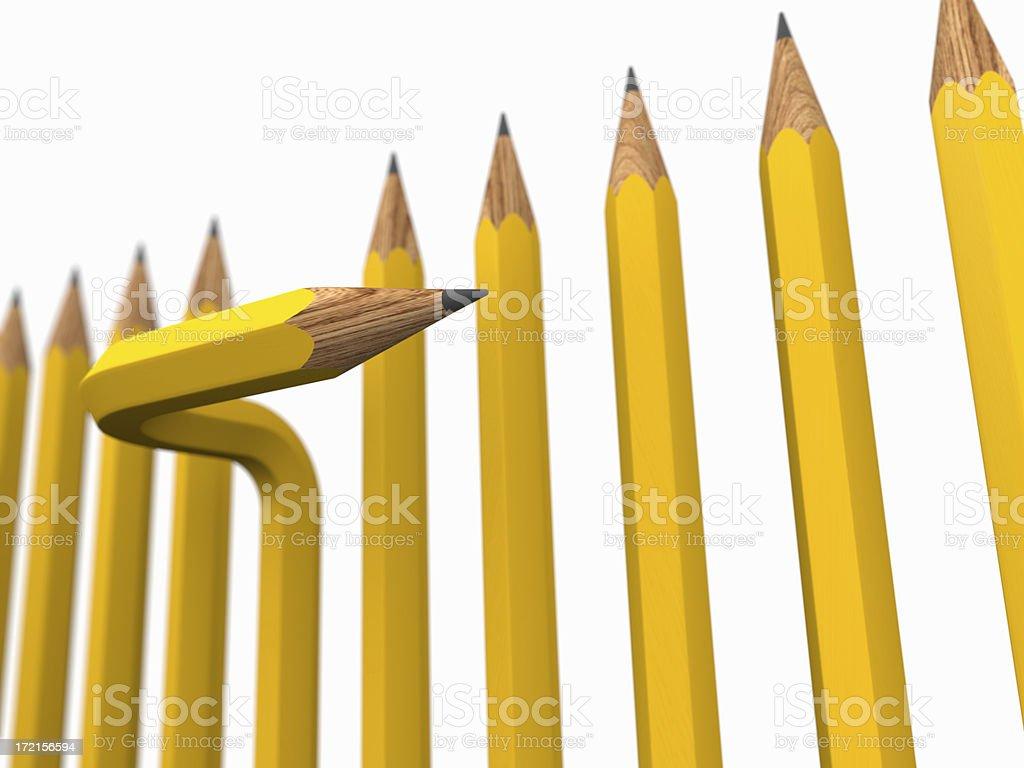 creative thinking royalty-free stock photo