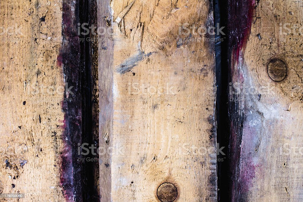 Creative Vintage or Old background of natural wood royalty-free stock photo