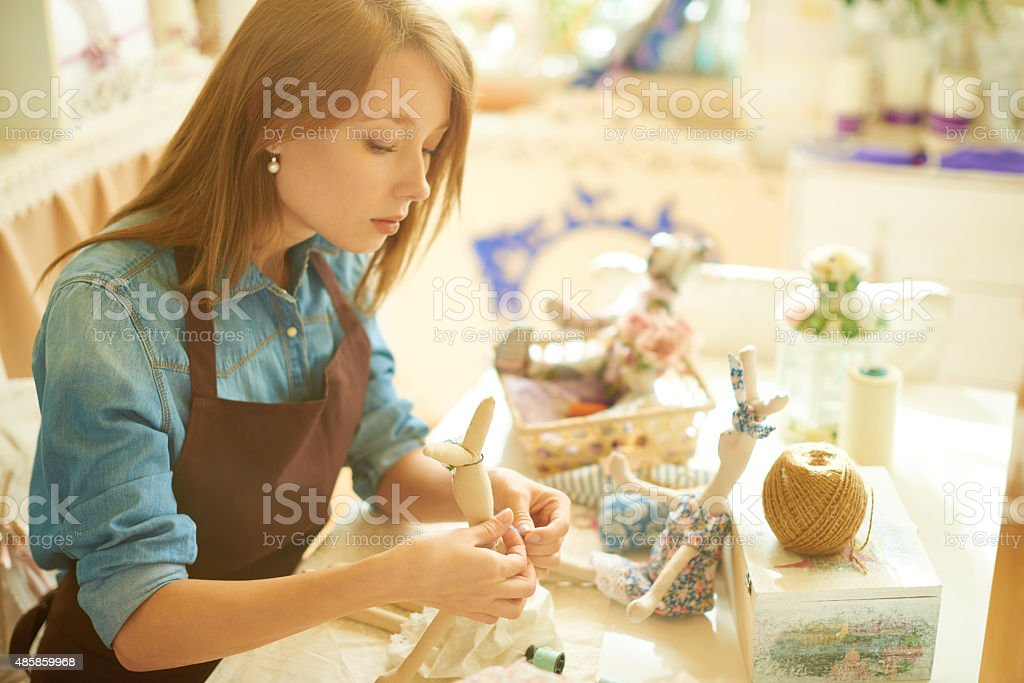 Creative work stock photo