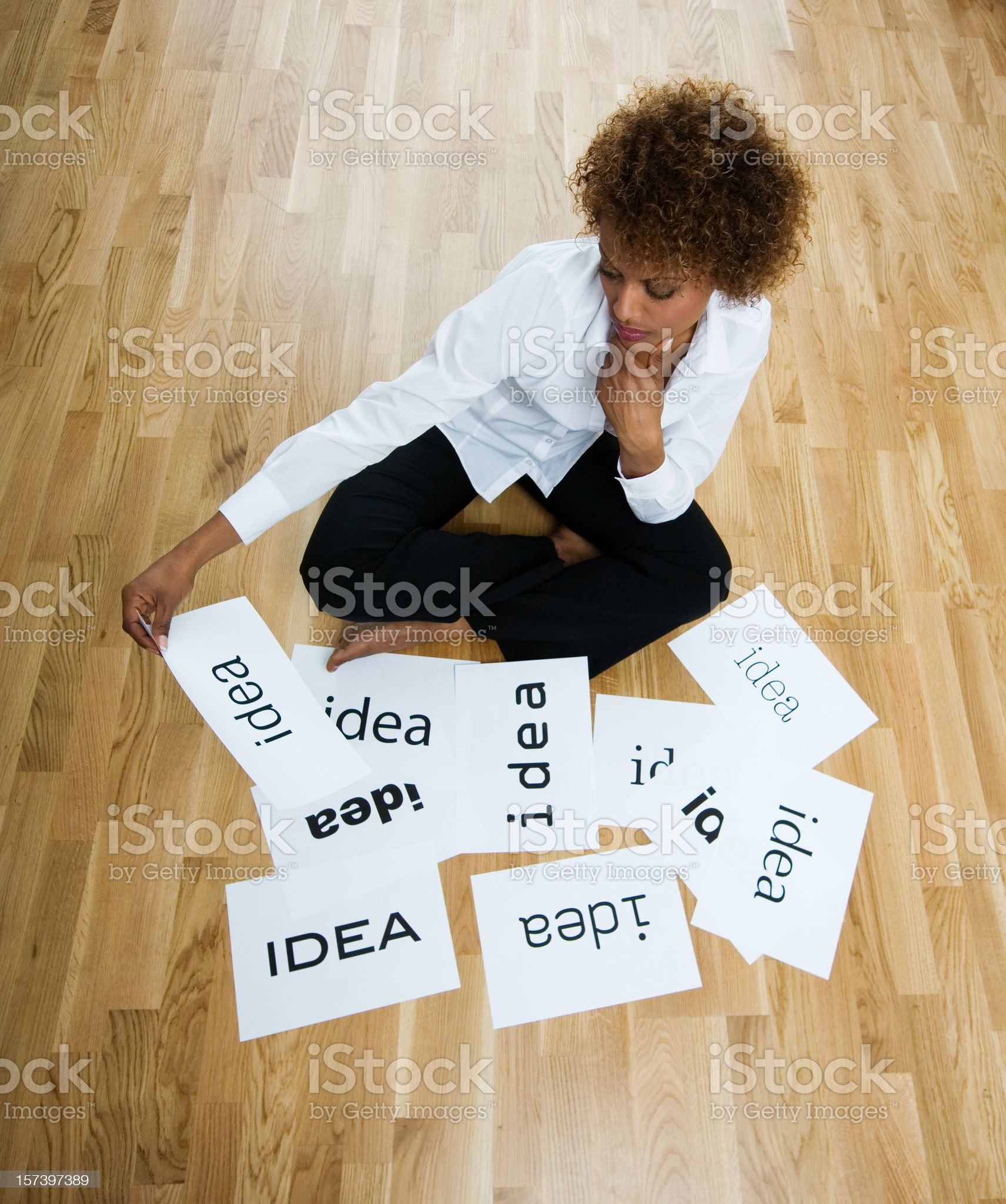 Creativity and ideas royalty-free stock photo