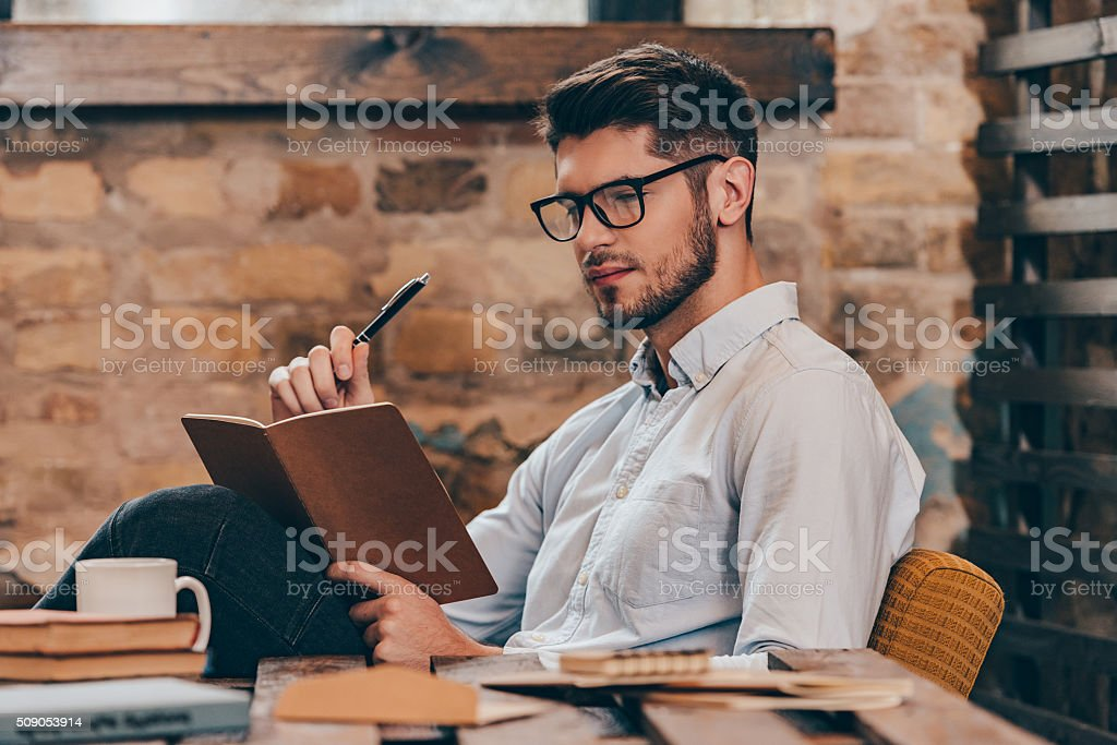 Creativity at work. stock photo
