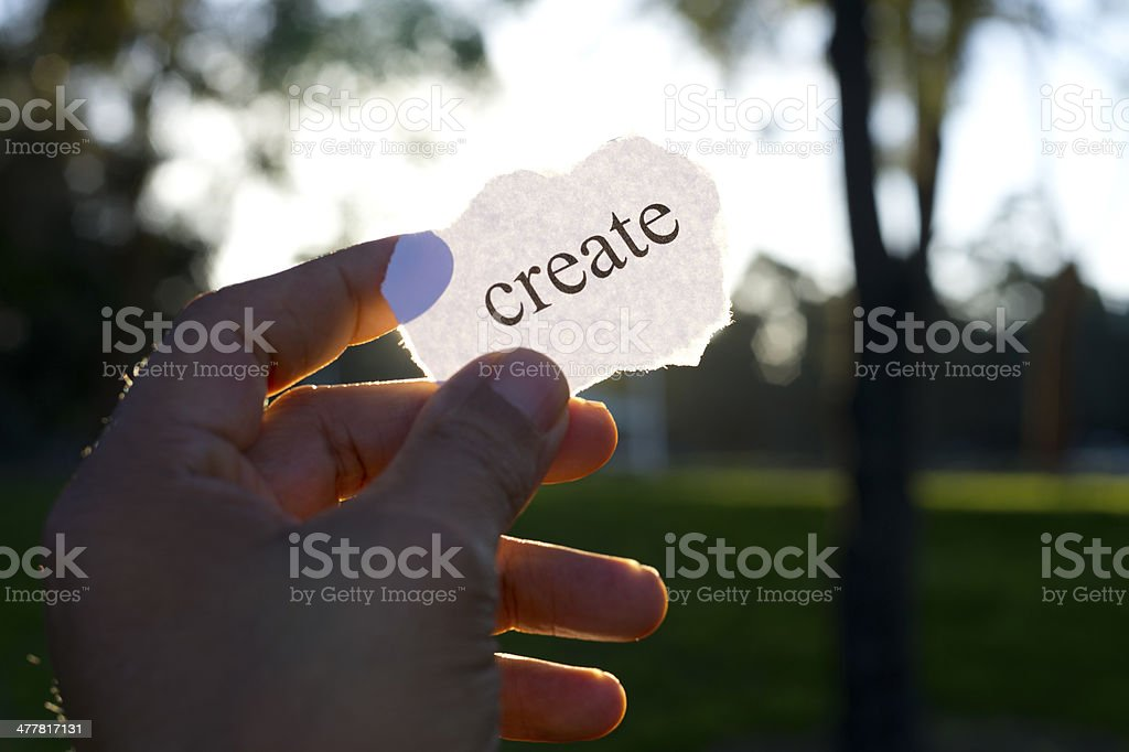 Creativity concept. royalty-free stock photo
