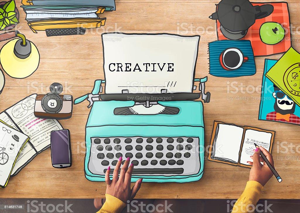 Creativity Creative Ideas Imagination Inspiration Design Concept stock photo