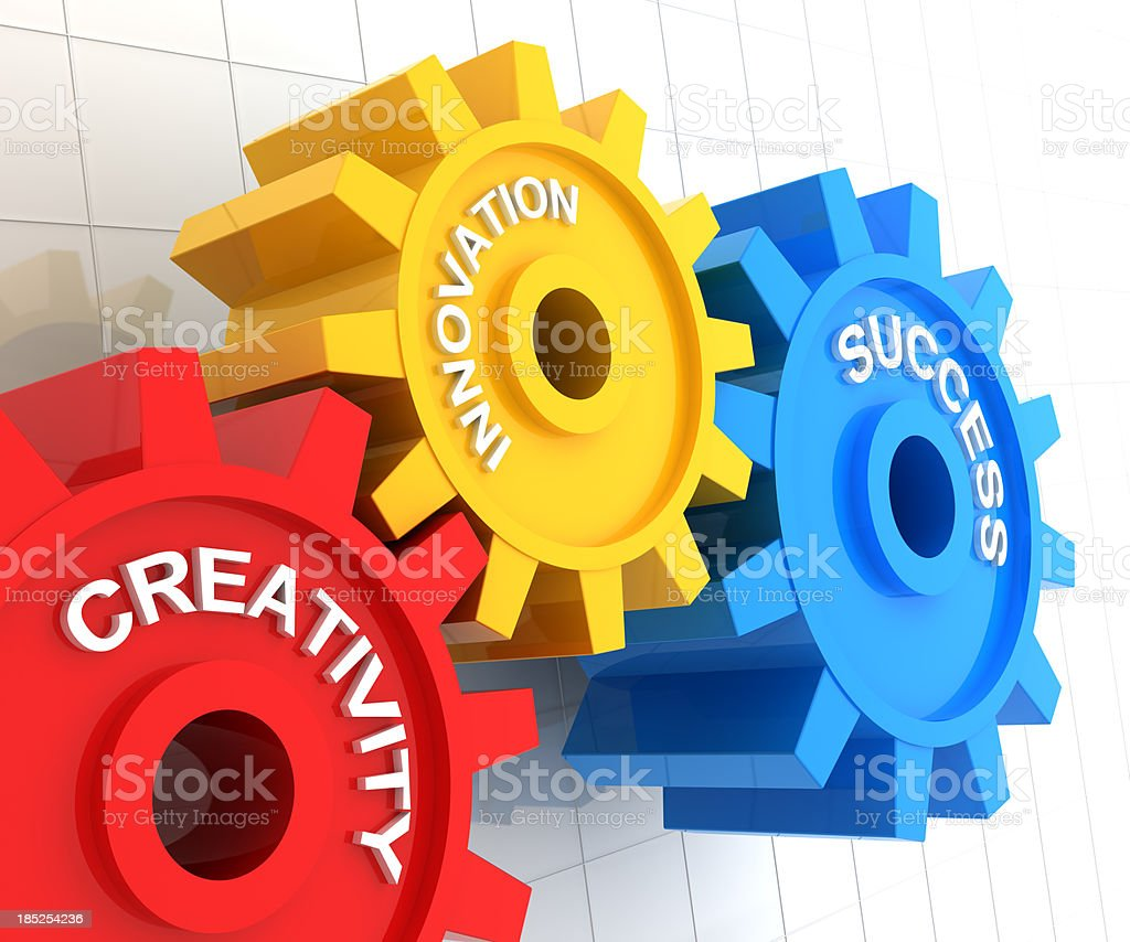 Creativity, innovation and success stock photo