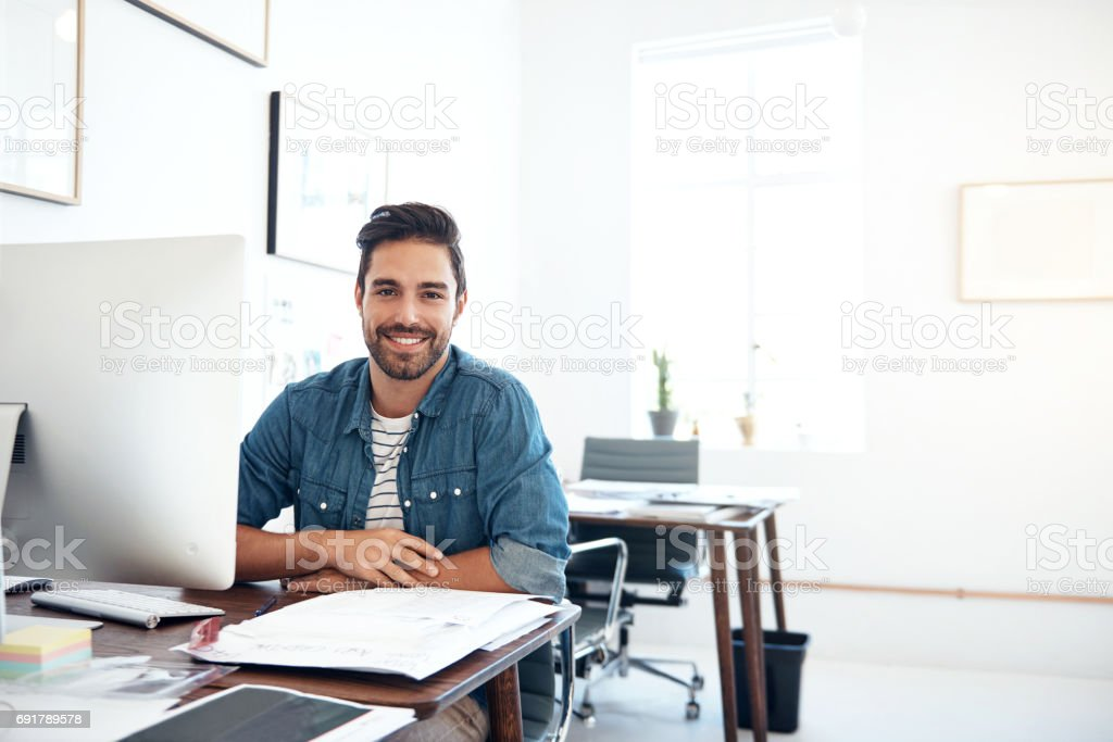 Creativity is a driving force behind business growth and success stock photo