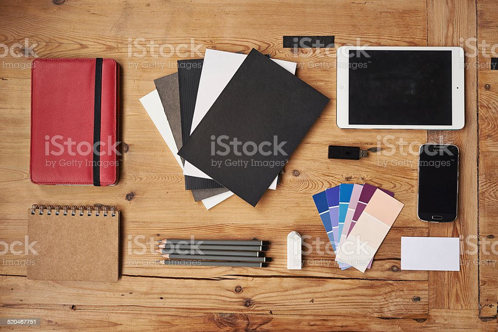 Creativity is an occupation stock photo