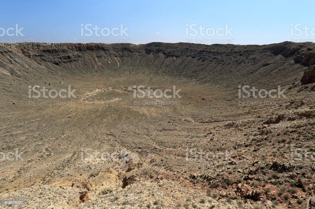 Creator near Flagstaff, Arizona stock photo