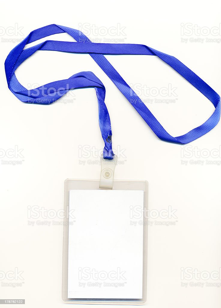 Credentials royalty-free stock photo